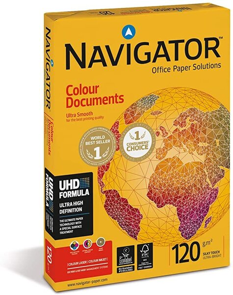 Хартия Navigator Colour Documents A4 120 g/m2