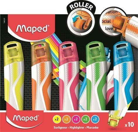 Тексмаркер Maped Fluo Peps Roller 746337