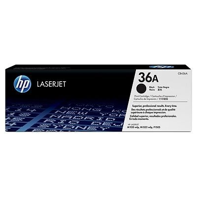 Консуматив, HP 36A Black LaserJet Toner Cartridge, CB436A