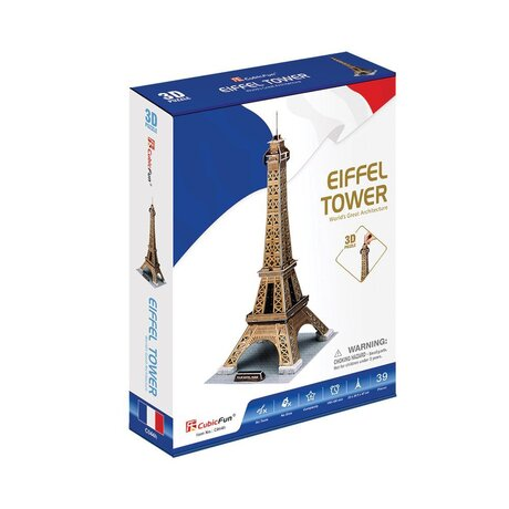 CubicFun 3D Пъзел EIFFEL TOWER