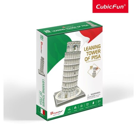 Cubic Fun Пъзел 3D Leaning Tower of Pisa 27ч.