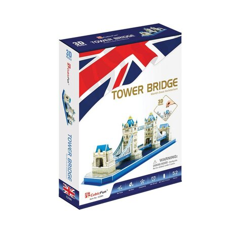 CubicFun 3D Пъзел TOWER BRIDGE