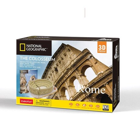 CubicFun 3D Пъзел THE COLOSSEUM NATIONAL GEOGRAPHIC