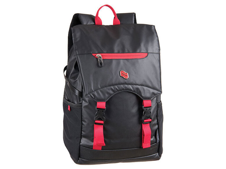 Раница PULSE TWALKER BLACK-RED 21174